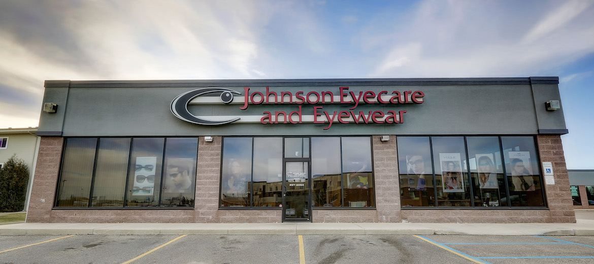 Johnson Eyecare & Eyewear office front