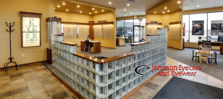 Johnson Eyecare & Eyewear front lobby