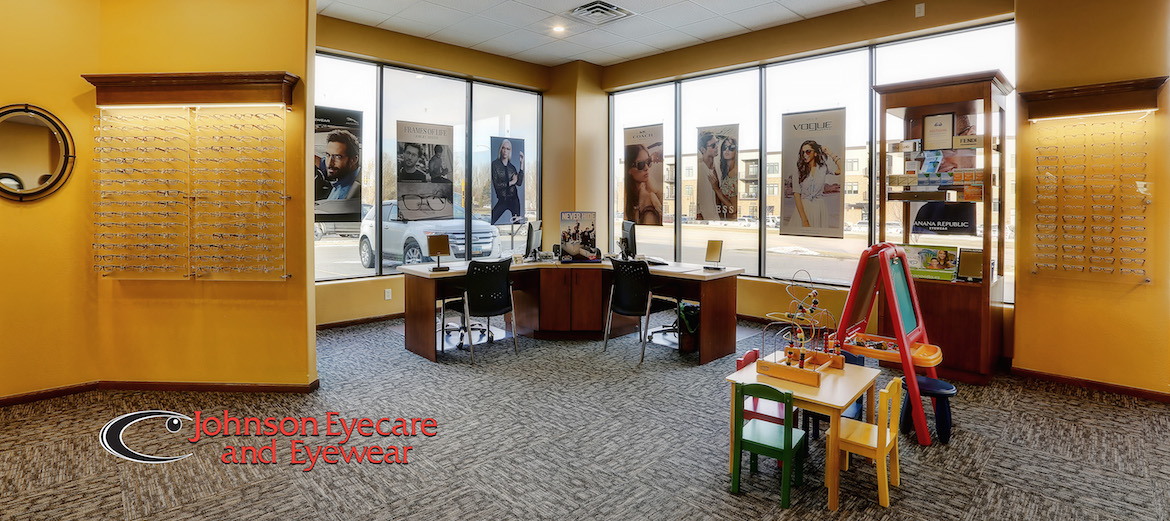 The interior of Johnson Eyecare & Eyewear