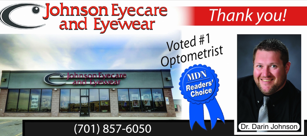 Johnson Eyecare & Eyewear voted number 1